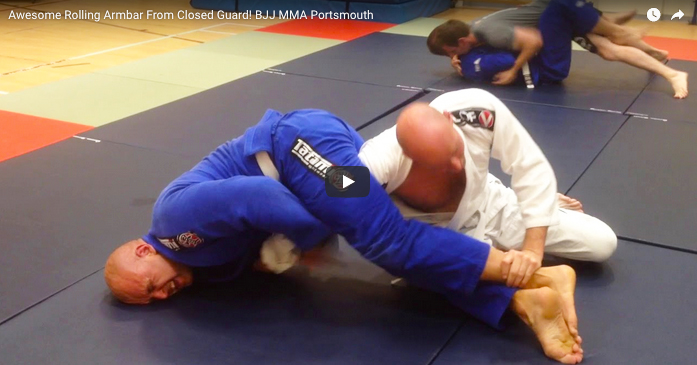 Awesome Rolling ArmBar From Closed Guard