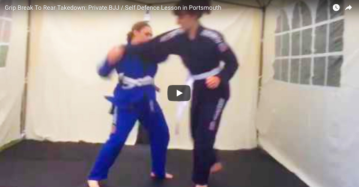 Grip Break To Rear Takedown Private 121 Lesson
