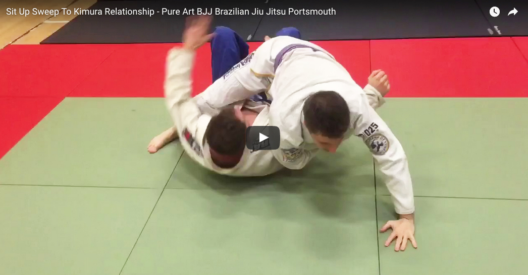 Sit Up Sweep To Kimura Relationship
