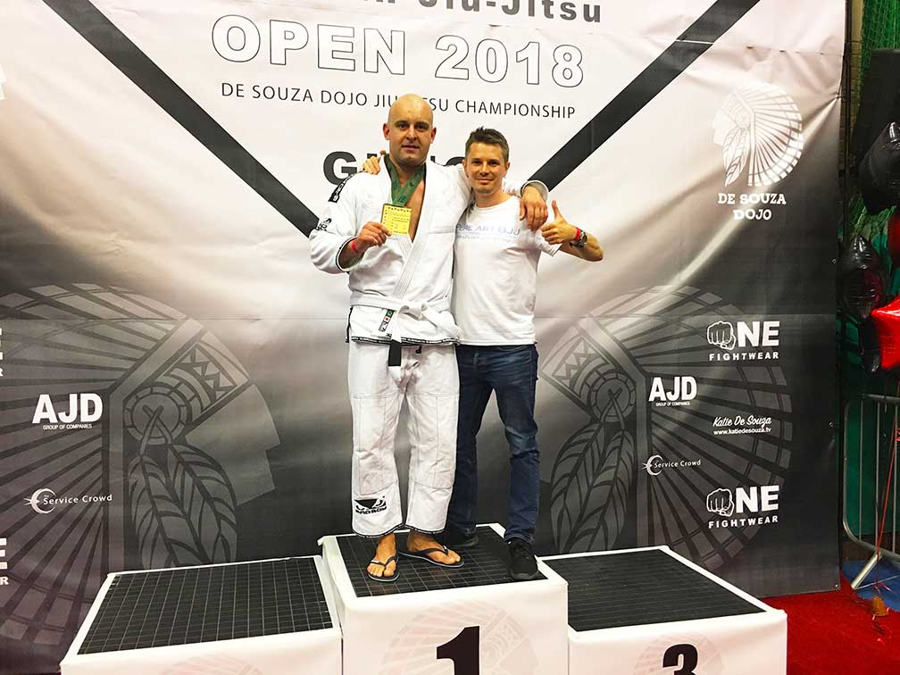 BJJ Portsmouth Gold Medal Competition