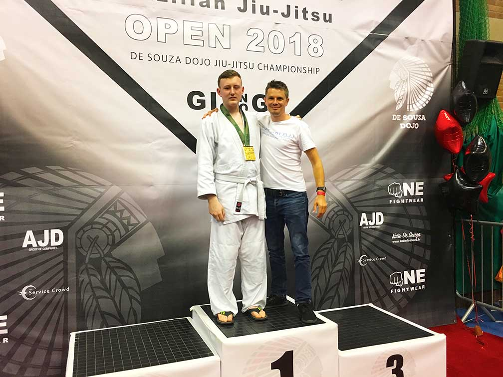 Brazilian Jiu-Jitsu Portsmouth Competition Gold Medal