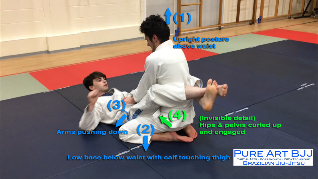 Closed Guard Pass For BJJ