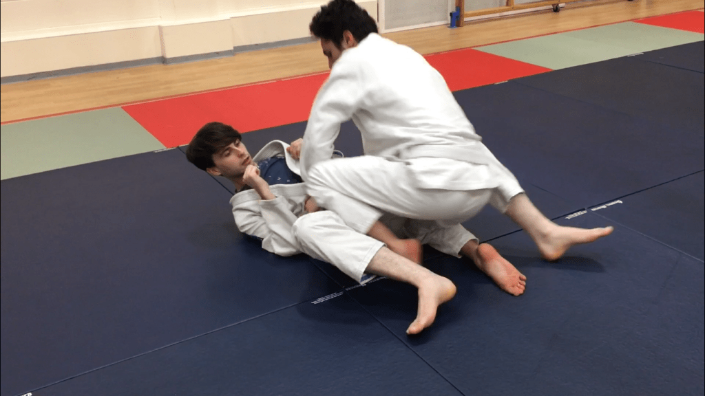 Closed Guard Pass Portsmouth BJJ 4