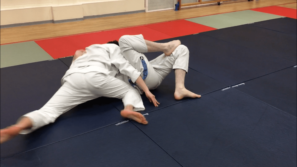 Passing Closed Guard BJJ Gosport 10