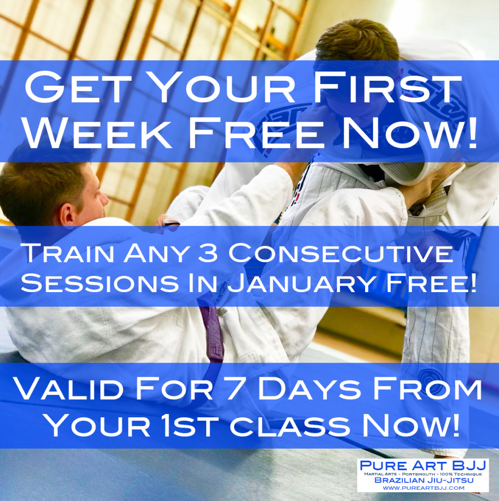 New Year Portsmouth BJJ Offer