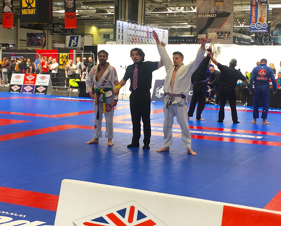 Adam Sparrow BJJ British Champion 2019