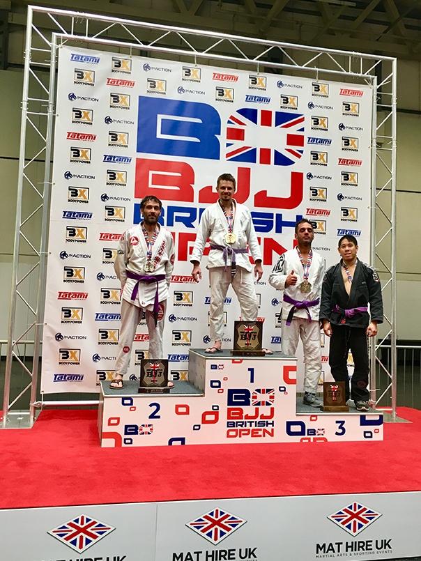 BJJ British Champion 2019 Adam Sparrow