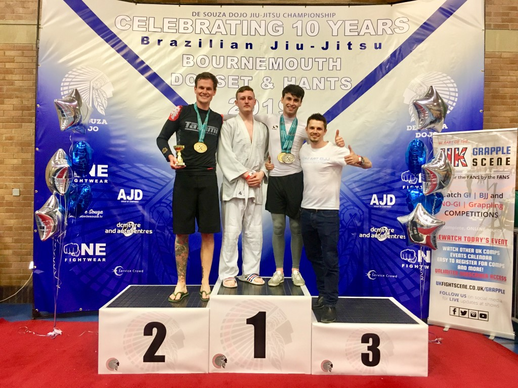 Pure Art BJJ Gold Medals Bournemouth Open 2019