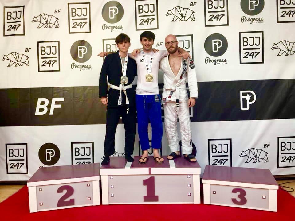 Pure Art Brazilian Jiu-Jitsu Gold Silver Medals Brighton Open