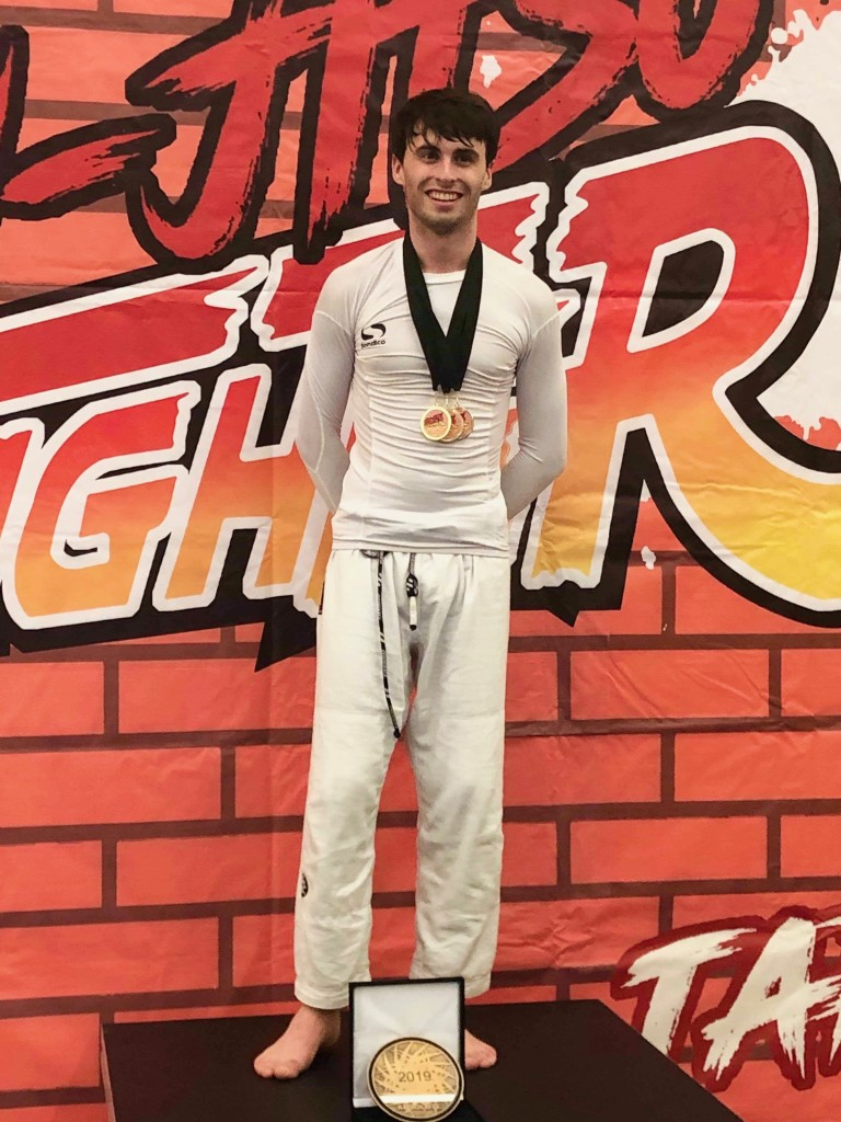James Parkin Absolute Open Weight Gold BJJ