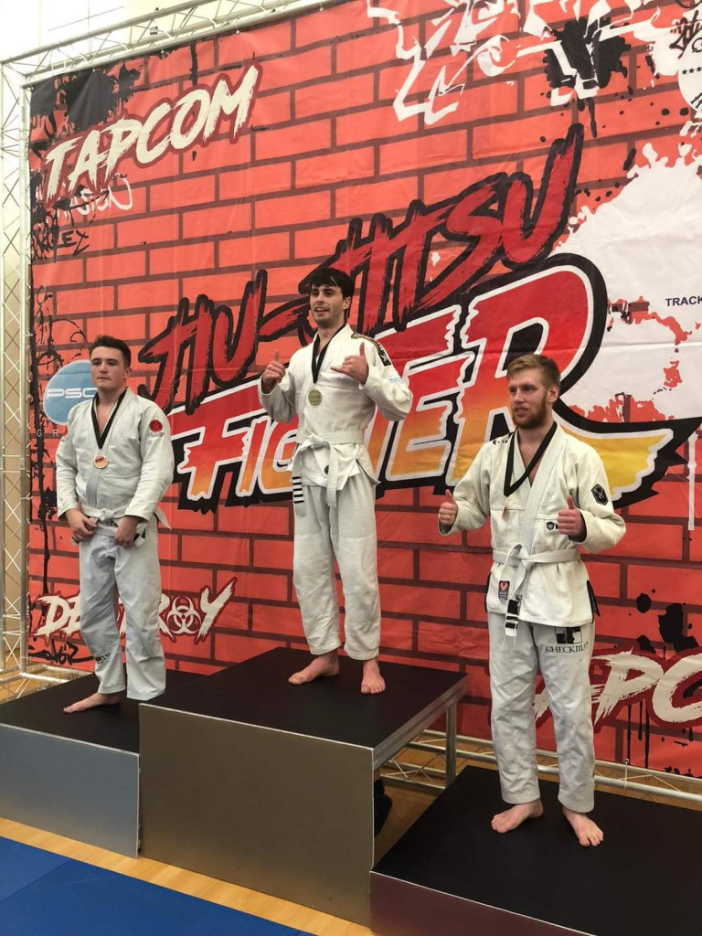 James Parkin BJJ Gold 70kg-Gi