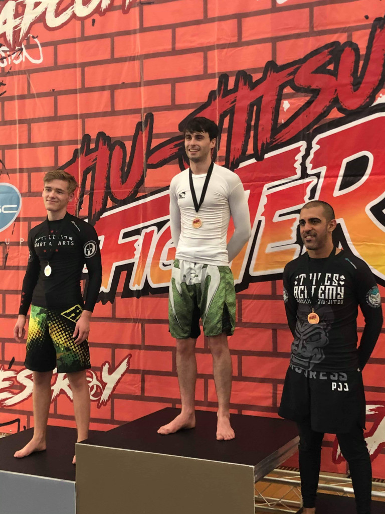 James Parkin BJJ Gold 70kg No-Gi