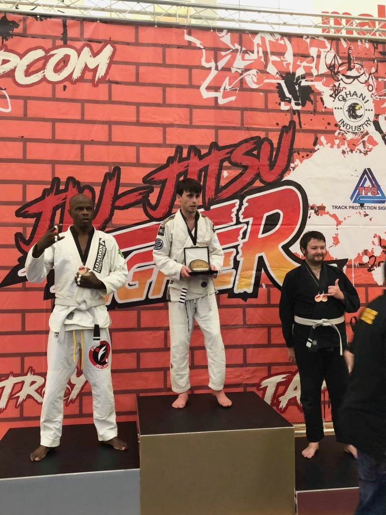 James Parkin BJJ Gold Absolute Open Weight