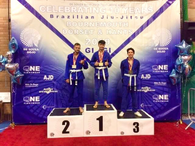 James Parkin Gold BJJ