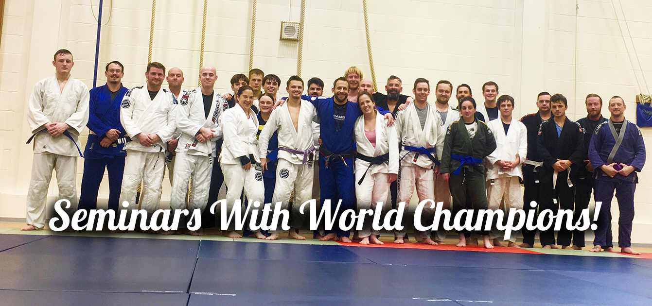BJJ Seminars with World Champions in Portsmouth